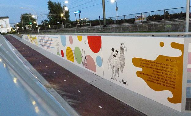 Artis muur Jip en Janneke